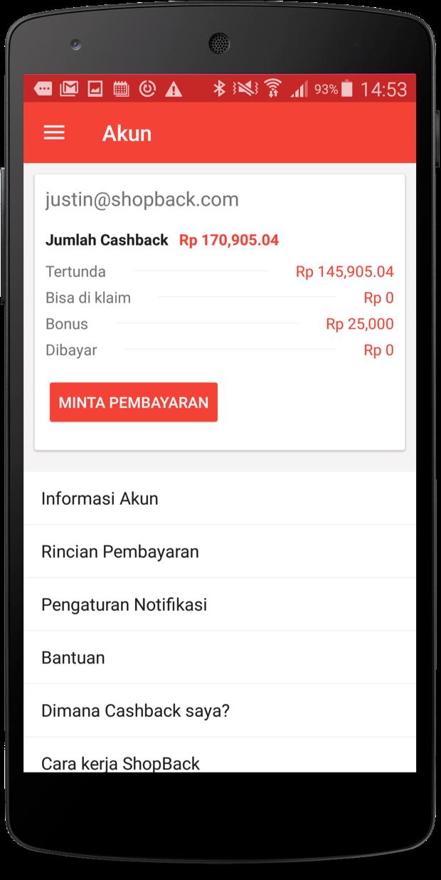 Download Aplikasi Mobile ShopBack, #1 Aplikasi CASHBACK