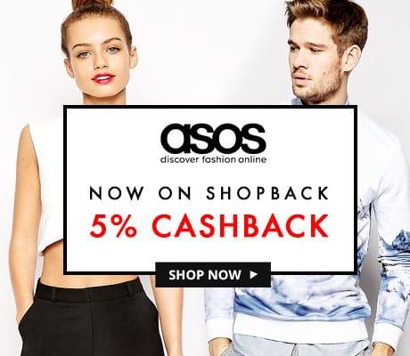 ASOS  5% Cashback