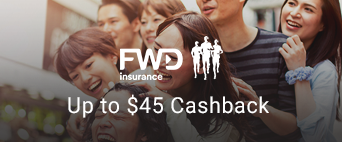 Up to $45 Cashback